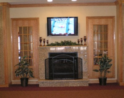 Lobby Fireplace 10 of 28