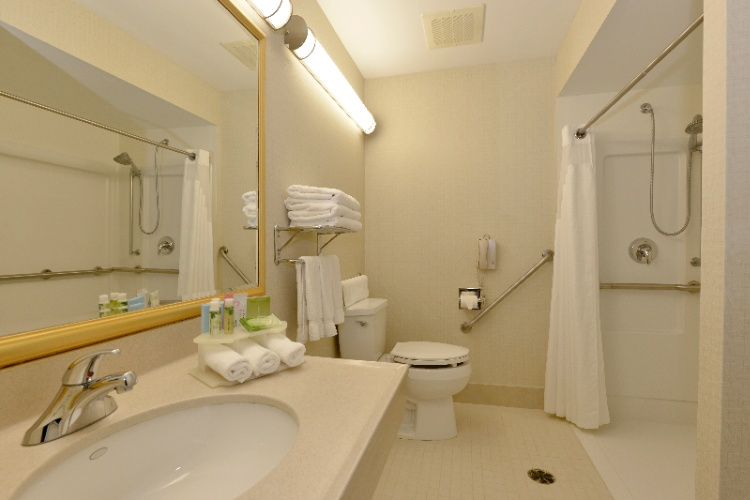 Wheelchair Accessible Bathroom 28 of 31