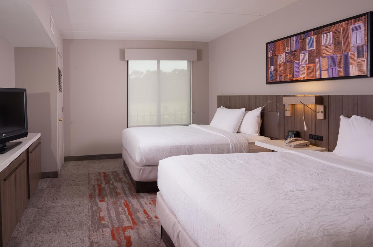 Newly Renovated Standard Double Queen Guestroom With Digital Key 8 of 18
