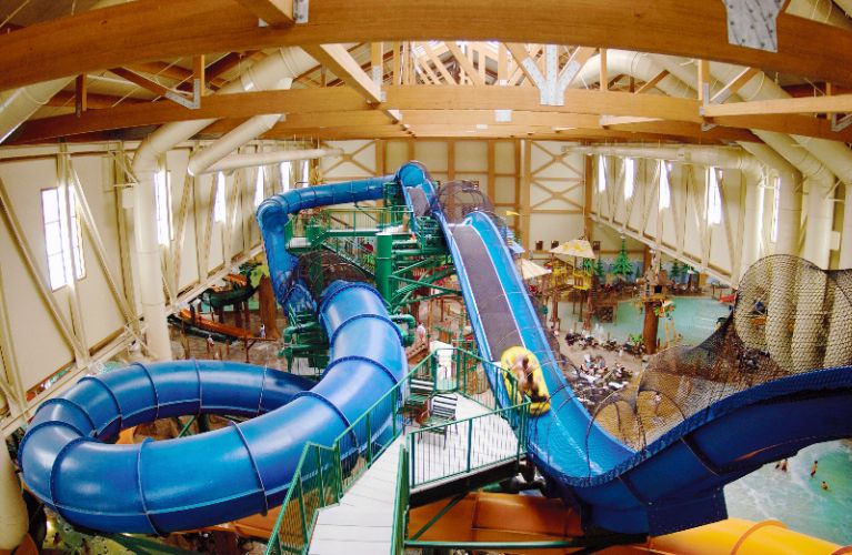 Great Wolf Lodge Waterpark -Niagara Rapids Slide 17 of 17