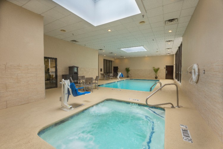 Indoor Swimming Pool And Hot Tub 14 of 19