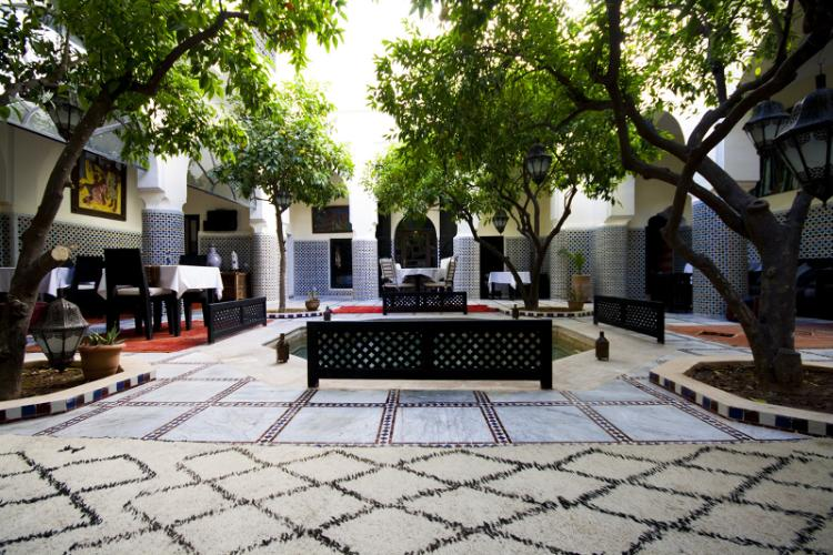 Patio Of The Riad 3 of 31