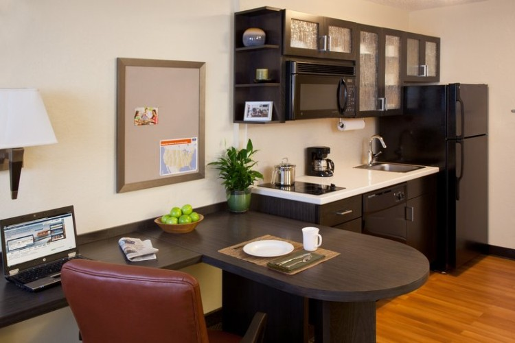 Candlewood Suites Garden Grove Studio Suite Kitchen 3 of 7