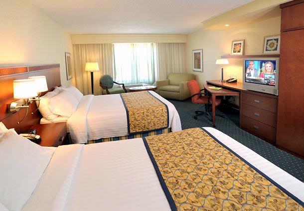 Get A Good Night\'s Rest In Our Comfortable Guest Rooms With Two Queen-Size Beds. 5 of 15