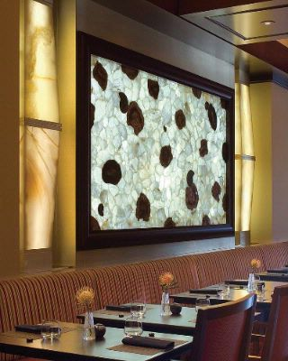 At Onyx Backlit Semi-Precious Stones Add Drama To Dining 12 of 16