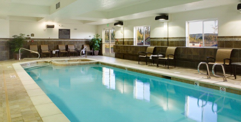 Relax In Our Indoor Pool. 5 of 9