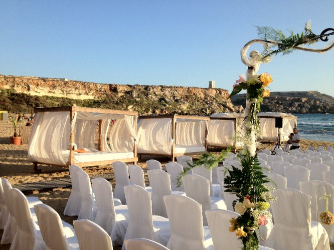 Wedding On Golden Sands Beach 6 of 26