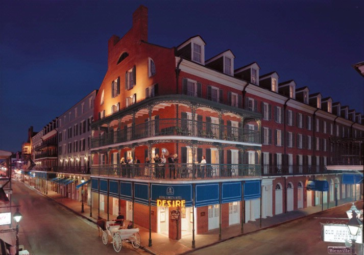 Royal Sonesta Hotel New Orleans 300 Bourbon St La 70130