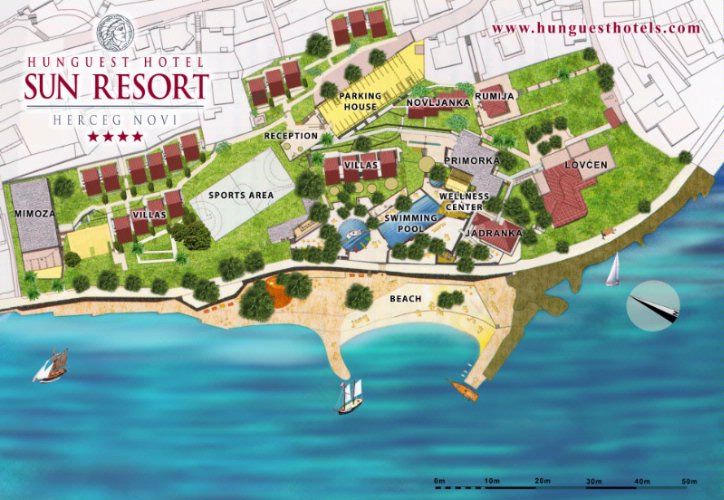 The Map Of The Resort 5 of 30