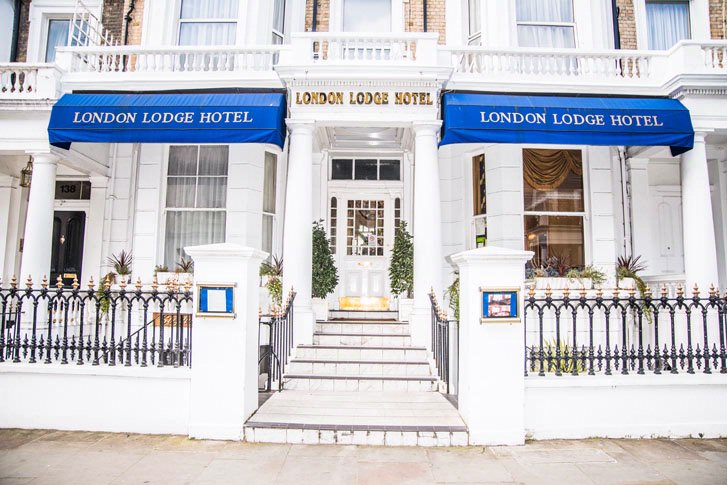 London Lodge Hotel 134 136 Lexham Gardens W86jg