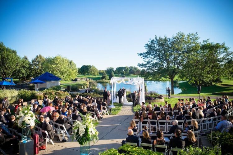 Outdoor Wedding Ceremony 14 of 15