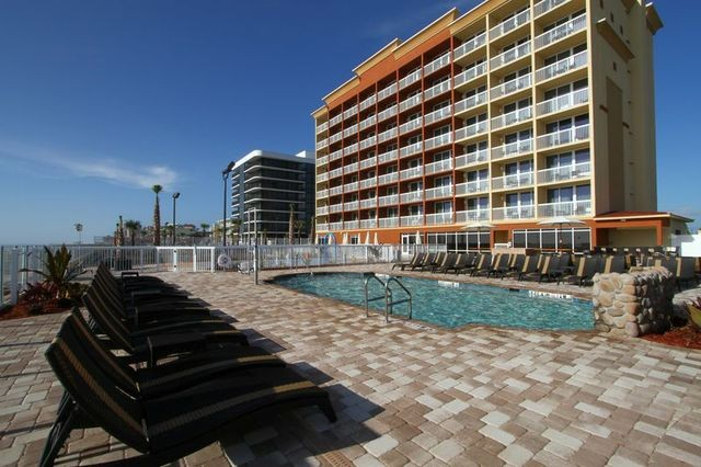 Spacious Pool Deck 3 of 13