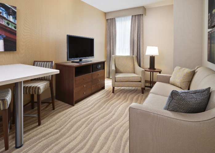Living Area Of 1 And 2-Bedroom Suites 9 of 16