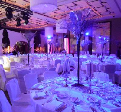 Gala Dinner In Banquet Set Up Style In Ballroom 27 of 31