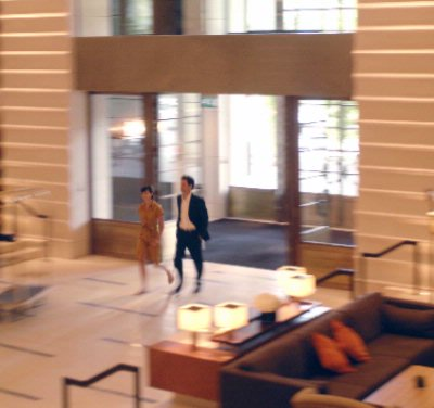 Couple Arriving At Hotel Intercontinental Geneva 4 of 31