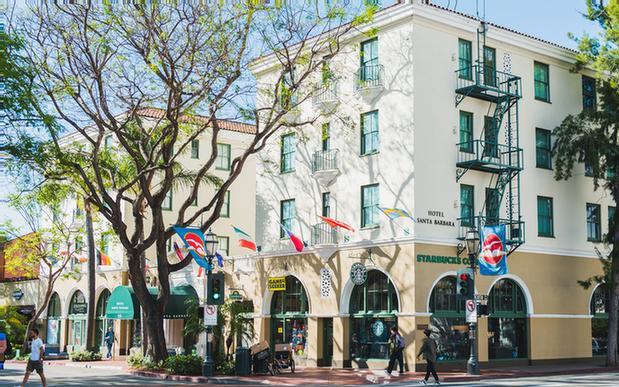 Hotel Santa Barbara 533 State St Ca 93101