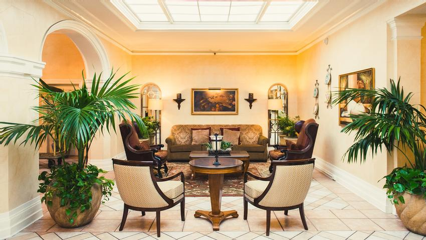 Hotel Santa Barbara's Mediterranean Styled Lobby With Its Elegance And Natural Lighting Is The Perfect Place To Rejuvenate Before Stepping Out To Do Some Shopping Dining Or Exploring. 8 of 11
