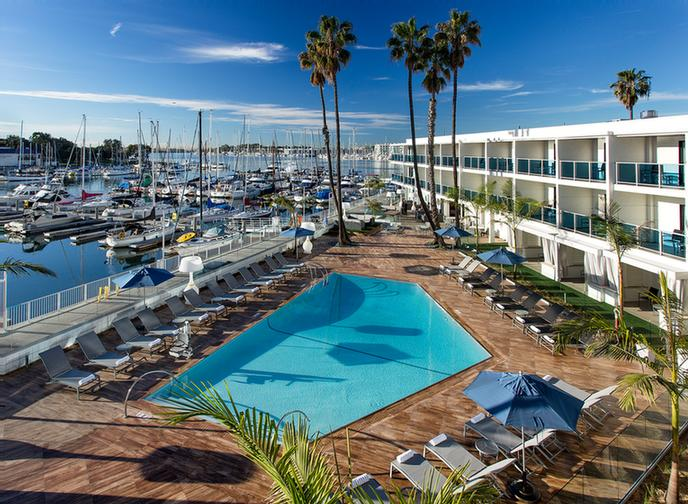The Marina Del Rey Hotel 2 of 16