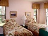 Twin Beds Can Be Converted To King Size In Guest Bedroom 5 of 11