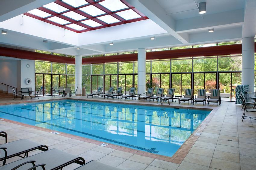 Large Indoor Swimming Pool With Sun Deck 9 of 15