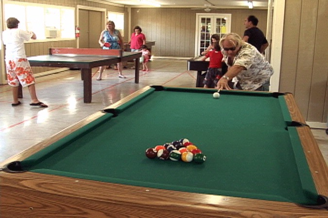 Pool Table In The Game Zone 7 of 16