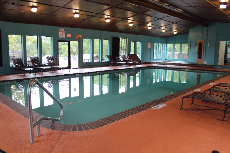 Indoor Pool With Hot Tub And Sauna 9 of 16