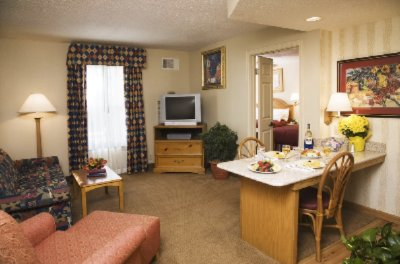 Enjoy Your Two Room Suite With Full Kitchen 3 of 4