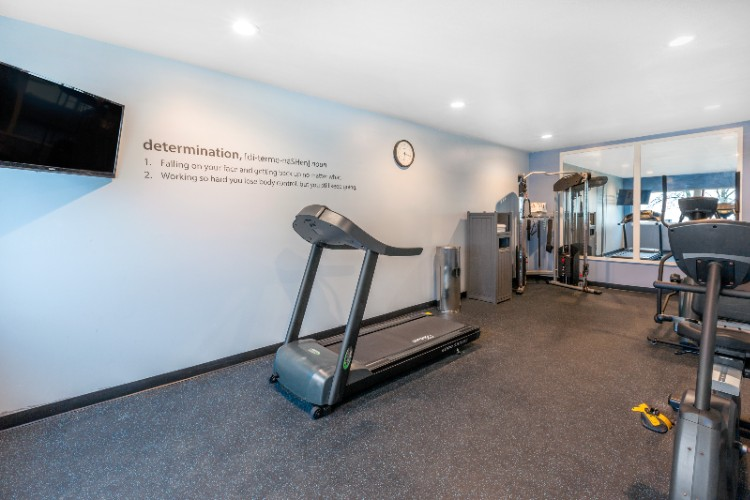 Fitness Area Available 7am Until 10pm 13 of 13