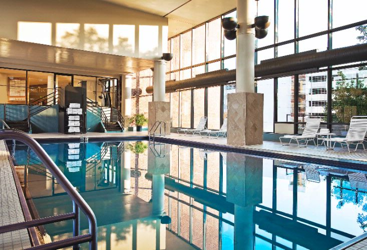 Relax In Our Indoor Heated Pool 3 of 9