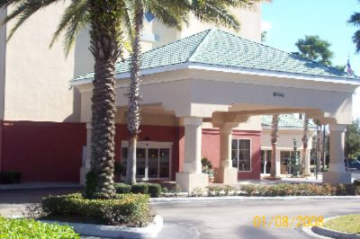 Hampton Inn Lake Buena Vista Front Of Hotel