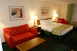 Executive King Room- Fairfield Inn Lakewood/golden 4 of 11
