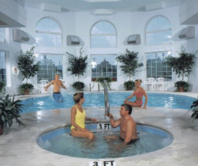 Enjoy Our Indoor Pool And Hot Tub Open 24 Hrs 10 of 11