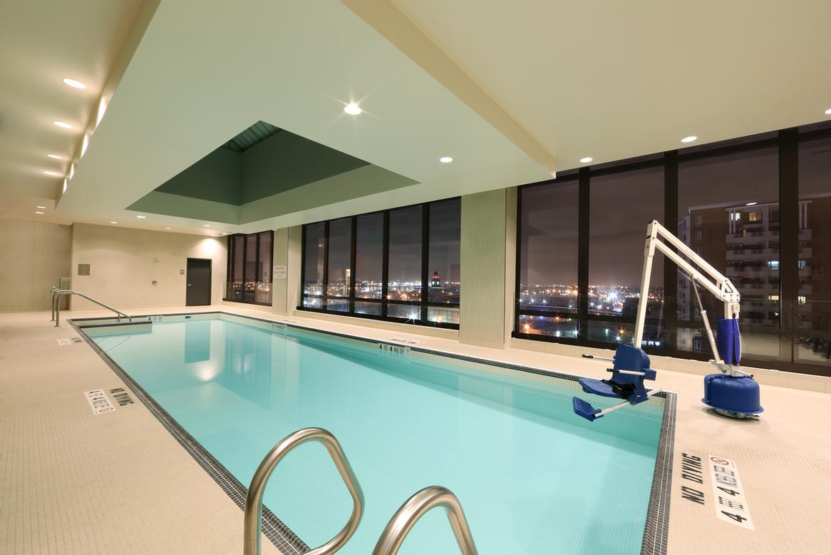 Rooftop Indoor Heated Pool 8 of 12