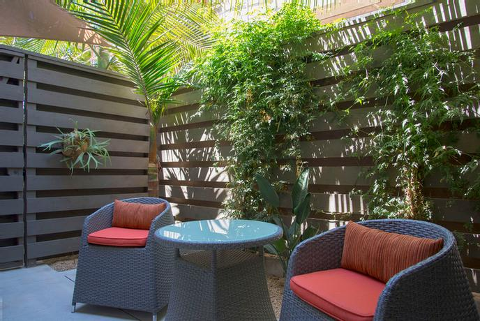 Some Rooms Feature Private Patios 8 of 10