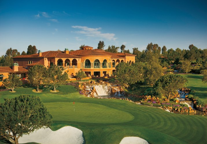 The Grand Golf Club\'s 18th Hole Waterfall 7 of 22