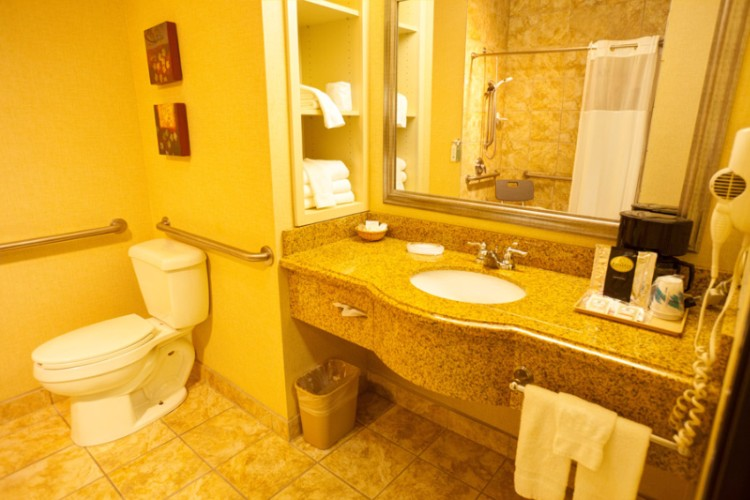 Bathroom In Accessible Rooms 30 of 38