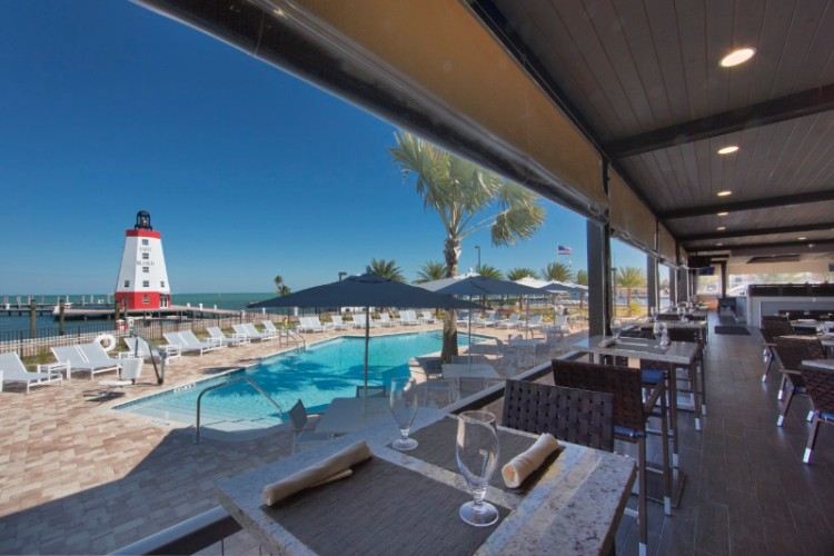 Lighthouse Grill Veranda/pool 8 of 13