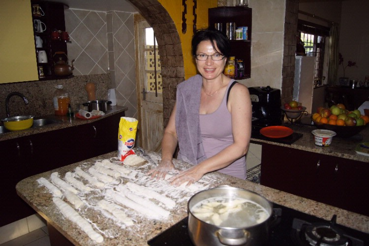 Bozena Cooks Polish Dinner For You. 11 of 21