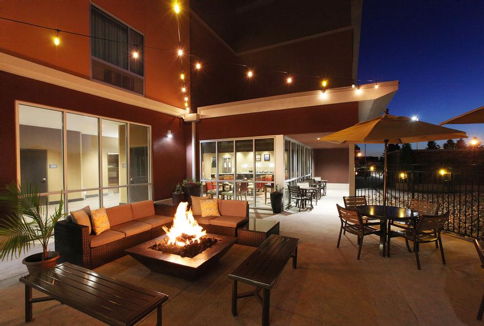 Outdoor Patio With Fire Pit And Restaurant And Bar Service 22 of 23