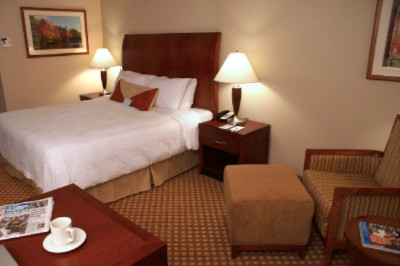 Enjoy A Restful Night Stay In Our Evolution King Room Featuring Our Garden Sleep System. 4 of 9