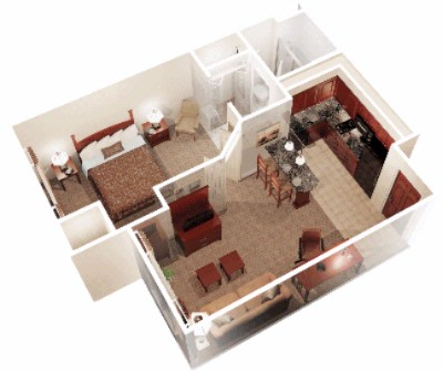 1 Bedroom Suite Diagram 15 of 22
