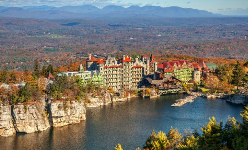 Mohonk Mountain From New York By Car
