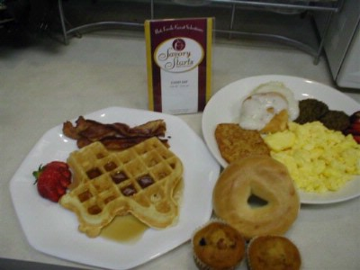 Hot Breakfast Served Daily 8 of 9