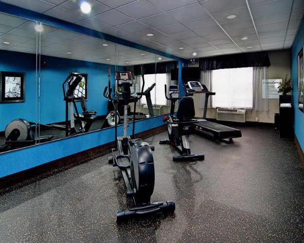Stay Fit In Our 24-Hour On-Site Fitness Center. 8 of 24