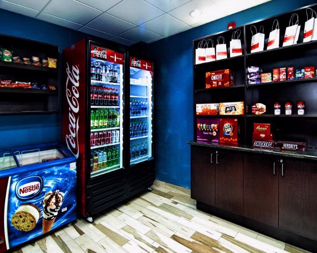 We Have A Fully Stocked Snack Pantry / Convenience Store By Our Front Desk. 9 of 24
