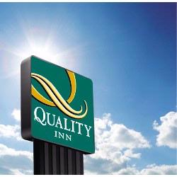 Quality Inn Hotel Sign 13 of 14