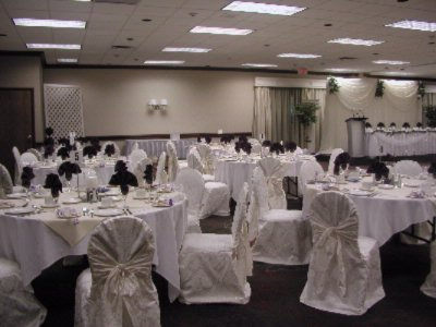 Harvester Hall -Wedding Set Up 14 of 25