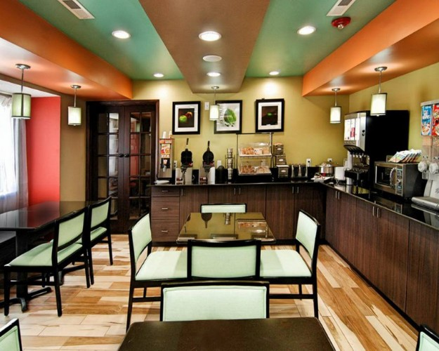 This Is Our Complimentary Hot Breakfast Bar And Dining Area. It\'s Always Fun Making Your Own Waffle! 16 of 24