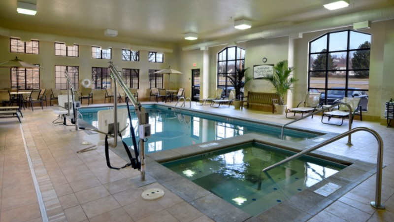 Indoor Heated Pool And Hot Tub 13 of 16