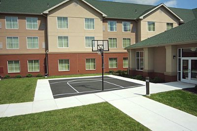 Outdoor Basketball Court 10 of 11